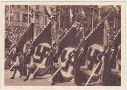 GERMANY 1939 (20.7.) PICT.PC HAMBURG K.d.F. MEETING (postmark) - Otros
