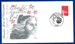 Enveloppe Premier Jour   / Marianne Du 14 Juillet  / Paris  / 14-07-1997 - FDC