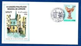 Enveloppe Premier Jour   / 9 ème Congrès Philatélique Régional De Lorraine / Gallé / Nancy  / 8 Et 9 Octobre -1994 - FDC