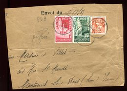 Belgique - Timbres Perforés PDB Sur Grand Fragment En 1935 - Réf O35 - 1934-51
