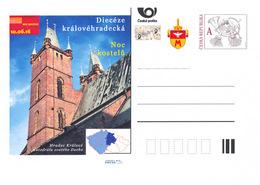 Rep. Ceca / Cart. Postali (Pre2016/20) Notte Delle Chiese 2016 - Hradec Kralove (Hradec Kralove - Cattedrale) - Interi Postali