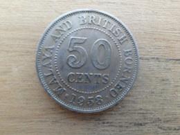 Malaya  Britich  Borneo  50  Cents 1958 H   Km 4.1 - Malaysie