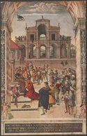 Pinturicchio - Enea Piccolomini Riceve Da Federigo III La Corona D'Alloro, Siena, C.1920 - Cartolina - Siena