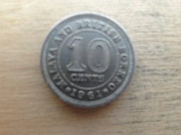 Malaya  Britich  Borneo  10  Cents 1961   Km 2 - Malaysie