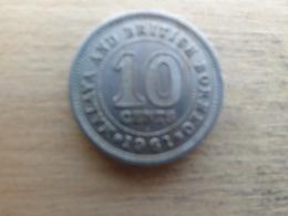 Malaya  Britich  Borneo  10  Cents 1961 H   Km 2 - Malaysie