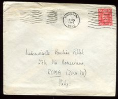 Royaume Uni - Enveloppe De Maidstone Pour Rome En 1946 - Réf O44 - Marcofilie