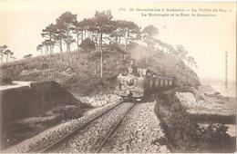 Dépt 29 - AUDIERNE - La Vallée Du Goyen - La Montagne Et Le Pont De Souganso (Anse De Suguensou) - Audierne