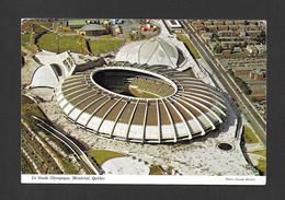 MONTRÉAL - QUÉBEC - LE STADE OLYMPIQUE UN EXPLOIT TECHNIQUE TERMINÉ POUR LES JEUX OLYMPIQUES 1976 - Montreal