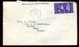 Royaume Uni - Enveloppe De Newport Pour La France En 1946 - Réf O49 - Marcofilie