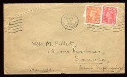 Royaume Uni - Enveloppe De Newport Pour La France En 1950 - Réf O50 - Marcofilie