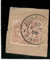 8153 - JOURNAUX  PP DIEPPE - 1900-29 Blanc