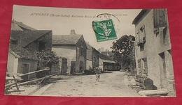 70 - Avrigney - ( Haute Saône ) - Ancienne Route De Gy ------------- 471 - Andere Gemeenten