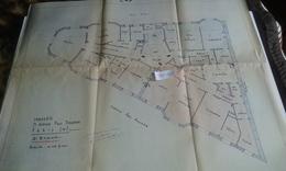 VP13.026 PARIS -  Plan 66 X 55 Immeuble Du 71 Avenue P. DOUMER - Brigitte BARDOT Habita De 1956 A 1971 Dans Cet Immeuble - Architecture