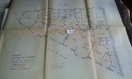 VP13.028 PARIS - Plan 66 X 55 Immeuble Du 71 Avenue P. DOUMER - Brigitte BARDOT Habita De 1956 A 1971 Dans Cet Immeuble - Architecture