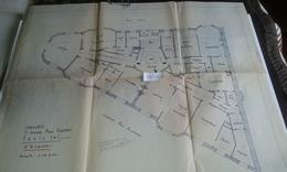 VP13.029 PARIS - Plan 66 X 55 Immeuble Du 71 Avenue P. DOUMER - Brigitte BARDOT Habita De 1956 A 1971 Dans Cet Immeuble - Architecture