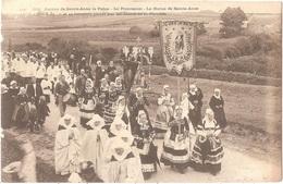 Dépt 29 - PLONÉVEZ-PORZAY - Pardon De Sainte-Anne-la-Palue - La Procession - La Statue De Sainte-Anne - Plonévez-Porzay