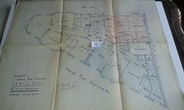 VP13.030 - PARIS - Plan 66 X 55 Immeuble Du 71 Avenue P. DOUMER - Appartement De Brigitte BARDOT Au 6ème Etage - Architecture