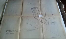 VP13.033 PARIS - Plan 66 X 55 Immeuble Du 71 Avenue P. DOUMER - Brigitte BARDOT Habita De 1956 A 1971 Dans Cet Immeuble - Architecture