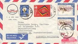 PERÚ - AIR MAIL LETTER 1964 -> MÜNCHEN/GERMANY - Peru