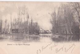 Carte Précurseur 1900 JARNAC / LE SPORT NAUTIQUE - Jarnac
