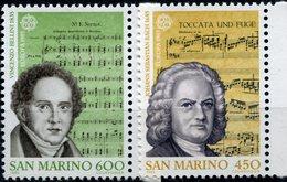 EUROPA-CEPT 1985 SAN MARINO Yvert Nr.1154-55 ** - Europa-CEPT