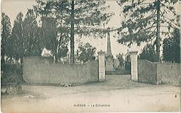 HIRSON (02) Le Cimetière - Carte Postée - Hirson