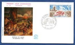 Enveloppe Premier Jour   / N 772 / Bataille De Valmy / 18 Septembre 1971 - FDC