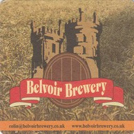 UNUSED BEERMAT - BELVOIR BREWERY (OLD DALBY ENGLAND) - PUB & VISITOR CENTRE - (Cat 004) - (2012) - Sous-bocks
