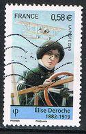 FRANCE : N° 4504 Oblitéré (Pionners De L'aviation : Elise Deroche) - PRIX FIXE - - Used Stamps