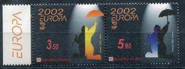 EUROPA-CEPT 2002 CROATIE HRVATSKA Yvert Nr.575/76 ** - Europa-CEPT
