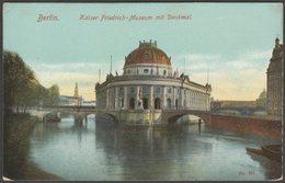 Kaiser Friedrich-Museum Mit Denkmal, Berlin, C.1905 - AK - Mitte