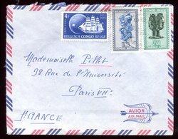 Congo Belge - Enveloppe Pour La France - Réf O67 - 1947-60: Lettres