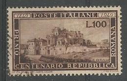 Le Vasello 100l Brun - 6. 1946-.. Republic