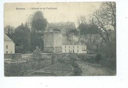 Chimay Château Vu Du Faubourg ( Edition POTEL Vallez Vins Levures En Gros ) - Chimay