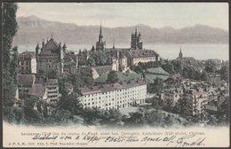 Lausanne, Chef Lieu Du Canton De Vaud, 1908 - T Pfaff CPA - VD Vaud