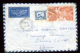 Indochine - Enveloppe De Saïgon Pour La France En 1947- Réf O71 - Indochine (1889-1945)