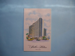 DALLAS  -  The Statler HILTON  -  TEXAS  - - Dallas