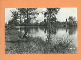 CPSM -  8 - Condé Folie -(Somme) - Etangs Des Fervents Pêcheurs  -( étang, Pêche , Pêcheur  ) - Frankrijk