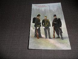 Armée Belge   Régiment Des Carabiniers - Régiments