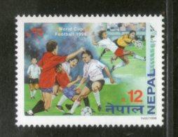 Nepal 1998 World Cup Football Soccer Champiaonship Sports Sc 634 MNH # 282 - Nepal