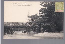 MAURITIUS Pont De Ste Marie, Petit Cap Savanne Ca 1910 OLD POSTCARD 2 Scans - Mauritius