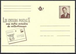 3 EP N° 52 (catalogue Des Entiers Postaux) 16Fr Albert II Sans Lunettes,promotion Collection EP,3 Versions Linguistiques - Entiers Postaux
