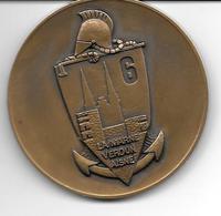 49 . ANGERS Médaille De Table Du 6 Iéme Génie . - Unclassified