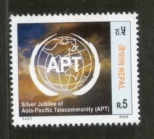 Nepal 2004 Asia - Pacific Telecommunity APT Science Sc 745 MNH # 1888 - Nepal