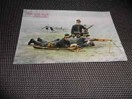 Armée Belge   Bataillon Cycliste   Tir De La Mitrailleuse - Régiments