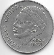 * Cape Verde 50 Escudos 1977 Km 21 - Cap Vert