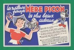Buvard - Fromages - MERE PICON - Buvards, Protège-cahiers Illustrés