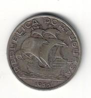 Portugal 10 Escudos 1955 Silver - Portogallo