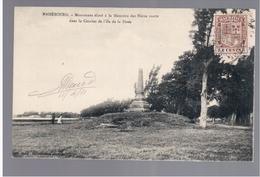 MAURITIUS Mahebourg Monument Eleve A La Memoire Des Heros Morts Ca 1910 OLD POSTCARD 2 Scans - Mauritius