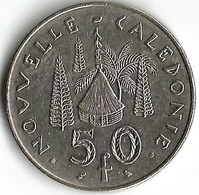 1 Pièce De Monnaie 50  Francs 1967 - Nouvelle-Calédonie